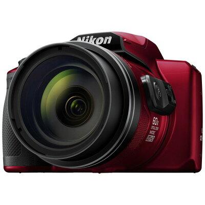 ニコン デジタルカメラ クールピクス B600 レッド(1台)