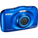Nikon コンパクトデジタルカメラ COOLPIX W W150 BLUE