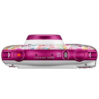 Nikon コンパクトデジタルカメラ COOLPIX W150 FLOWER