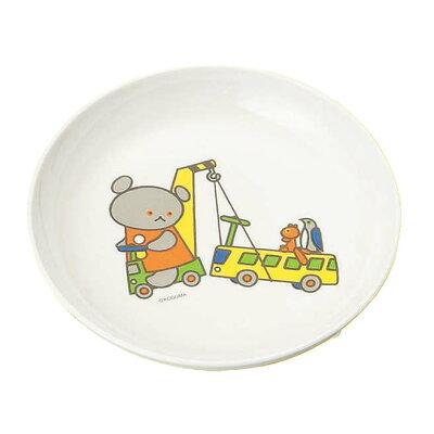KOKUSAI KAKO/国際化工 お子様食器 こぐまちゃん 菜皿 小 D10 KO