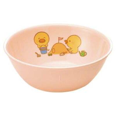 メラミン 子供食器 ひよこぐみ 中食器 ピンク J1HIP