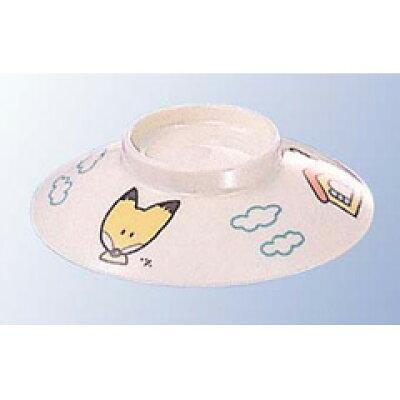 KOKUSAI KAKO/国際化工 メラミン子供食器 キタキツネ 飯茶碗・汁碗 蓋 J5CNF