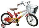 JoyPalette(ジョイパレット) 妖怪ウォッチ ジバニャン 16インチ 幼児自転車 (妖怪ウォッチ型ベル、貴族マーク入りカゴカバー) オレンジ/ホワイト 1285