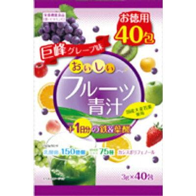 おいしいフルーツ青汁1日分の鉄&葉酸(3g*40包)