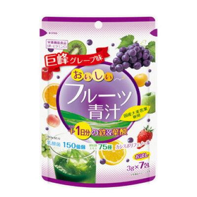 ユーワ おいしいフルーツ青汁 1日分の鉄&葉酸 7包