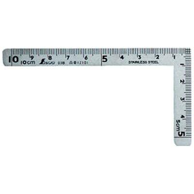 シンワ 超小型曲尺三寸法師10×5 12101