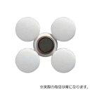 シンワ測定 シンワ測定 強力カラー磁石ヨーク付25φ青5入 A764-72078