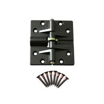 ハイロジック 折戸蝶番150度開 茶 KZ-242 Tools & Hardware 00072242-001