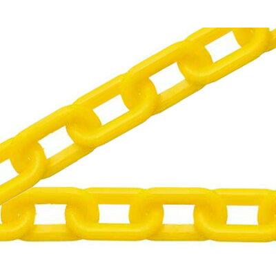 ハイロジック プラスチックチェーン箱入 #8×20m 黄色