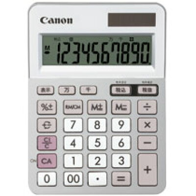 Canon ミニ卓上電卓 LS-100TU