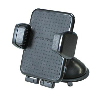 MIRAREED 手帳型ケース対応ホルダー 吸盤 ブラック PH-1612