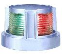 小糸 LED船灯 両色灯第2種シルバーボディ MLB-5AB2S 航海灯