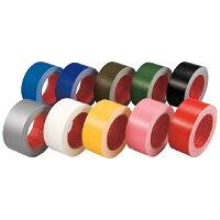 スリオン カラー布粘着テープ レッド 50mm