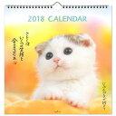 2018年版壁掛 日本ホールマーク 壁掛けカレンダー 大 じぶんペースで行こう 猫