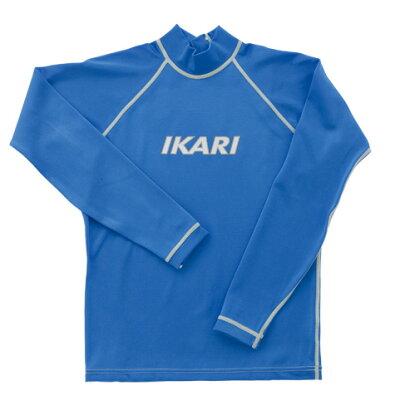 IKARI イカリ ラッシュガード KID'S 150 パウダーブルー AW702PB150