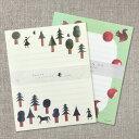 西淑 美濃和紙 レターセットかわいい 手紙 cozyca products にししゅく nishi syuku