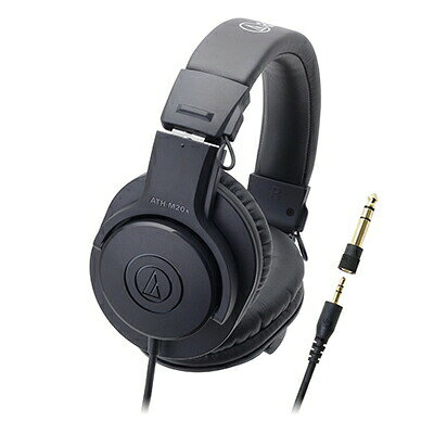 audio-technica プロフェッショナルモニターヘッドホン M ATH-M20X