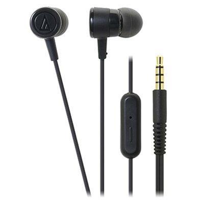 audio-technica スマートフォン用インナーイヤーヘッドホン dip ATH-CKL220IS BK