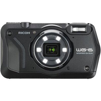 RICOH 防水 デジタルカメラ WG WG-6 BLACK