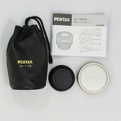 PENTAX レンズ FA31F1.8AL LTD/S