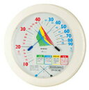 環境管理 温湿度計 室内用「熱中症注意」 大(1コ入)