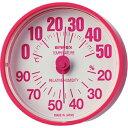 エンペックス ルシード 温湿度計 TM-2655 ピンク(1コ入)