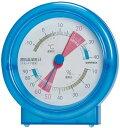 エンペックス温湿度計 TM-4726 クリアブルー TM4726