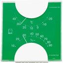 エンペックス エルム・カラー温湿度計 LV-4953 グリーン(1コ入)