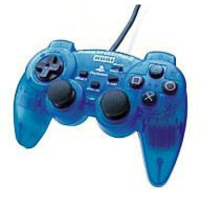 PS2用 アナログ振動パッド2 クリアブルー PlayStation2