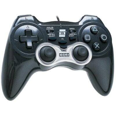 PS3用 ホリパッド3ターボ ブラック USB接続対応 PlayStation 3