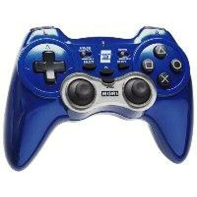 PS3用 ホリパッド3ターボ ブルー USB接続対応 PlayStation 3