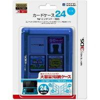 HORI カードケース24 for ニンテンドー3DS ブルー 3DS-021