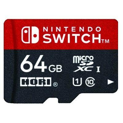 HORI microSDカード64GB for Nintendo Switch NSW-046
