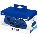ワイヤードコントローラーライト for PlayStation4 ブルー ホリ