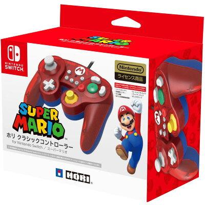 HORI ホリ クラシックコントローラー for Nintendo Switch マリオ NSW-107