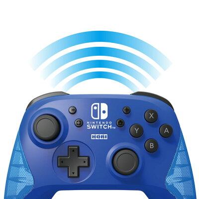 HORI ワイヤレスホリパッド for Nintendo Switch ブルー NSW-174
