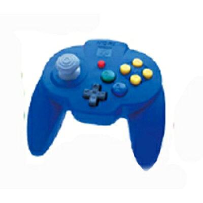 N64用 ホリパッドミニ64 ブルー N64 NINTENDO 64