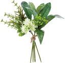 ベリーミックスバンチ グリーン/FBC8070-GR 造花 実物&フルーツ ベリー