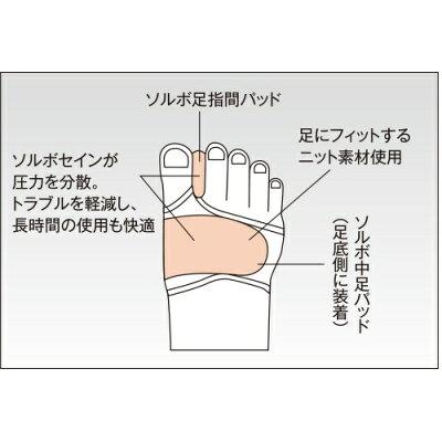 ソルボ 外反母趾サポーター  薄型 左足(Sサイズ)