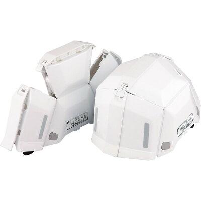 トーヨー(TOYO) 防災用折りたたみヘルメット ブルームII No.101 ホワイト(1コ入)