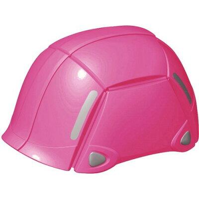 トーヨー(TOYO) 防災用折りたたみヘルメット ブルーム NO.100 ピンク(1コ入)