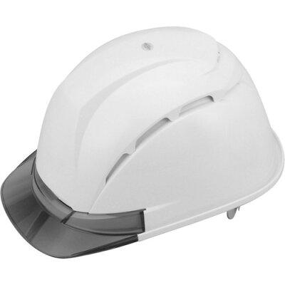 TOYO 通気孔付きヘルメット NO.393F-S シロ