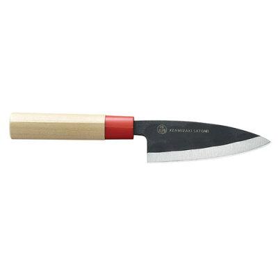 検見崎聡美シリーズ 黒打味切 包丁 KZ-104 1015573