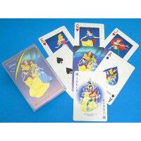 エンゼルプレイングカード プラスチックトランプ ディズニープリンセス