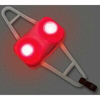 I liveアイリブ ショックライト レッド 自転車 補助灯