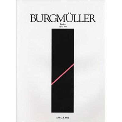 楽譜 ブルクミュラー 18の練習曲 0120 カワイ標準版 解説付