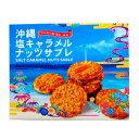 ほがや 沖縄 塩キャラメルナッツサブレ 12枚