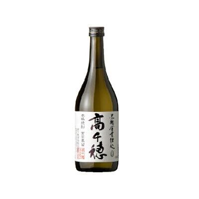 高千穂 乙類25゜ 黒麹 麦 白ラベル 720ml