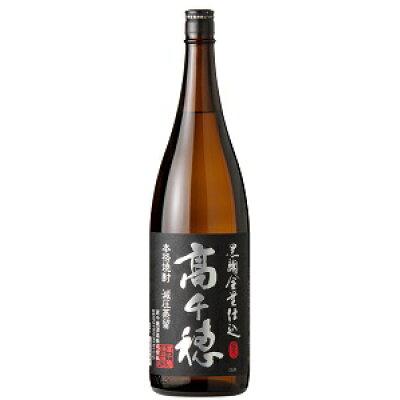 高千穂 乙類25°麦 黒麹 黒ラベル 1.8L