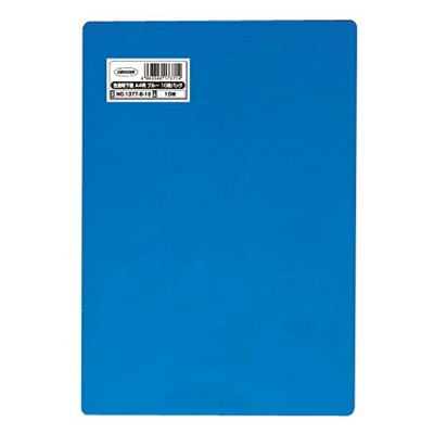 共栄プラスチック 下敷き ORIONS A4判色透明下敷青10枚パック NO.1377-B-10
